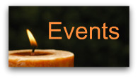 Events button with orange candle