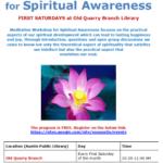 Free Meditation Workshop