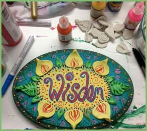Terry McGee - Wisdom Art Flowers