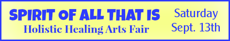 Spirit of All That Is Healing Arts Fair - Austin Texas - Nature's Treasures - Spiritual Life Productions