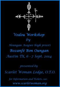 Scarlet Woman Lodge Voudou Workshop - Austin Texas