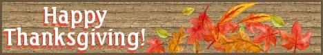 Happy Thanksgiving from The Austin Alchemist!