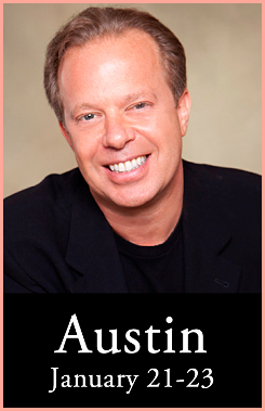 Dr Joe Dispenza - Workshop at Unity Church of the Hills - Austin Texas - Insight Events