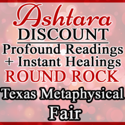 Ashtara Sasha White - Round Rock Metaphysical Fair - October 2018