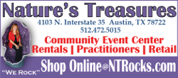 Nature's Treasures of Texas - Community Event Center - Space For Rent - Austin