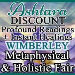 Ashtara Sasha White at Wimberley Metaphysical Fair