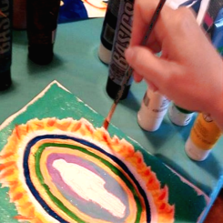 Paint Your Aura Workshop - Melissa Jacobsen - Austin Texas