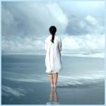 The Austin Alchemist Media Company offers body mind spirit news resources and events - waterfall-woman-bridge-beach