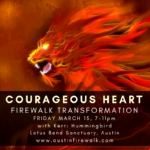 Kerri Hummingbird - Austin Firewalk Transformation - During SXSW