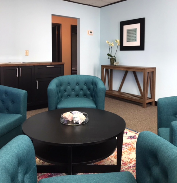 Heather Rider - Meeting Room Space For Rent - Reception Room - Austin Texas