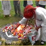 13 Sun Celebration - Mayan Fire Ceremony - Ancient Mayan Calendar Ceremony with Sun Priest Carlos Cedillo - Austin Texas