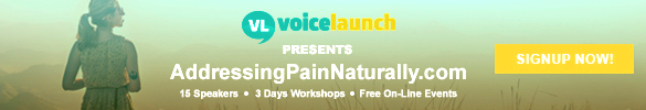 Addressing Pain Naturally Summit - 15 of Austins best natural health experts speak about pain management - Free Livestream - Austin - Round Rock - Cedar Park - September 20-22, 2019
