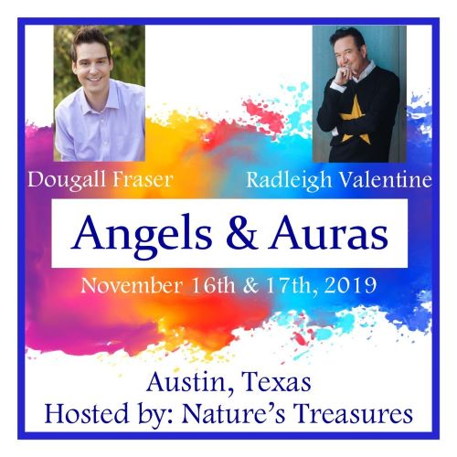 Angels And Auras - With Radleigh Valentine And Dougall Fraser - Austin Texas
