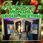 Ashtara Sasha White - Monthly Group Meeting Christmas