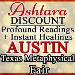Ashtara Sasha White - Texas Metaphysical Fair in Austin