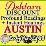 Ashtara Sasha White - Body Mind Spirit Expo - Austin Texas