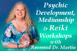 Sheryl Martin - Heaven Pathways Earth - Psychic Mediumship and Reiki Classes - Austin Texas