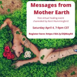 Kerri Hummingbird - Messages April 4th - Virtual Event