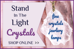 Cindy Hallett - Stand In The Light - fine crystals jewelry and salt lamps shungite - Austin Texas