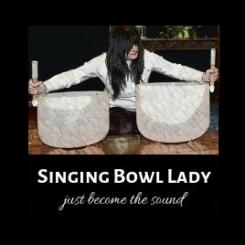Singing Bowl Lady