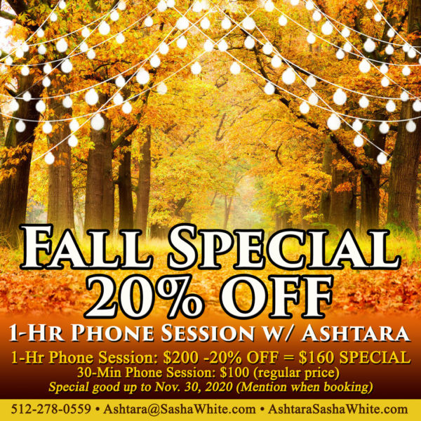 Ashtara Sasha White - Fall 2020 Special