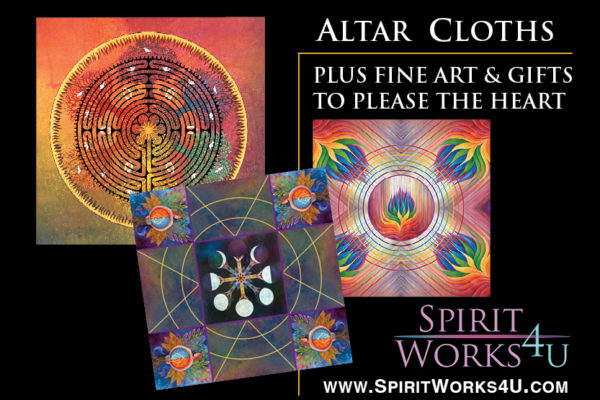Spirit Works 4 U - Kay Kemp - Altar Cloths