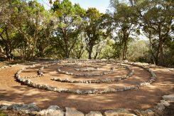 Labyrinth - Miraval Austin Resort and Spa - Austin Texas - May 2021